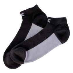 Men's Diadora Low-Cut Sock (12 Pairs) Black/Gray