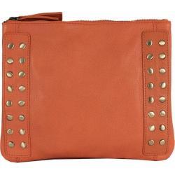 Women's Latico Bleecker Cross Body Bag 8926 Orange Leather