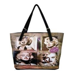 Women's Marilyn Forever Beautiful Memories Handbag MM2122 Black