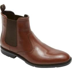 Men's Rockport City Smart Chelsea Boot Tan Leather