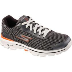 Men's Skechers GOwalk 3 FitKnit Charcoal/Orange