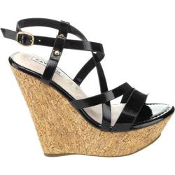 Women's Westbuitti Dame-2 Cork Wedge Sandal Black