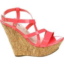 Women's Westbuitti Dame-2 Cork Wedge Sandal Coral