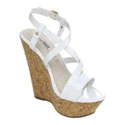 Women's Westbuitti Dame-2 Cork Wedge Sandal White