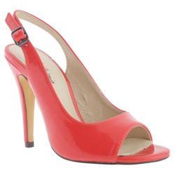 Women's Michael Antonio Lahdame Slingback Red Patent Polyurethane