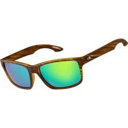 O'Neill Anso Polarized Sunglasses Matte Seagrass/Green Revo