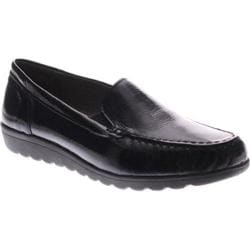Women's Spring Step Masala Loafer Black Patent Leather