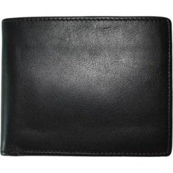 Men's Boconi Collins Calf Billfold Black w/Cool Blue