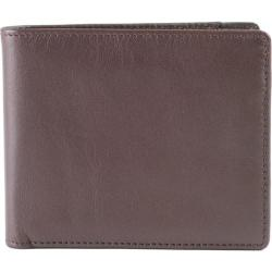 Men's Boconi Collins Calf Billfold Espresso w/Cool Blue