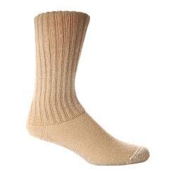 Foot Comfort Microfiber w/Silver Technology Crew (6 Prs) Khaki