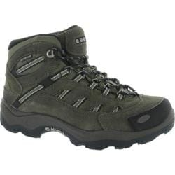 Men's Hi-Tec Bandera Mid Waterproof Brown/Olive/Snow