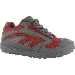 Children's Hi-Tec Meridian Jr Charcoal/Lingon/Port