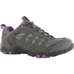Women's Hi-Tec Penrith Low Waterproof Charcoal/Purple