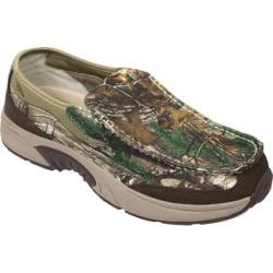 Men's Rugged Shark Annapolis 3 Slip On Green Camo Canvas
