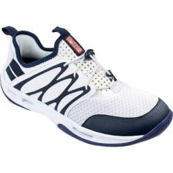 Men's Rugged Shark Starboard Lace Up White/Navy Synthetic/Mesh