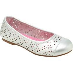 Girls' Hanna Andersson Disa Silver Metallic