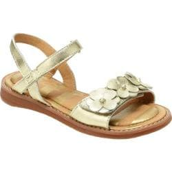 Girls' Hanna Andersson Justina Gold Leather