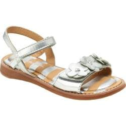 Girls' Hanna Andersson Justina Silver Leather