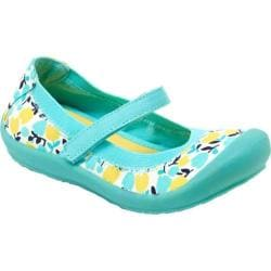 Girls' Hanna Andersson Maya 2 Blue Bold Floral Canvas