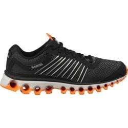 Men's K-Swiss TUBES 151 P Black/Charcoal/Bright Marigold