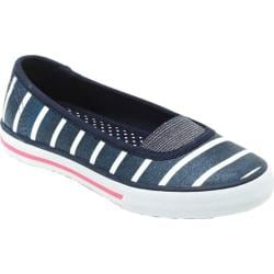 Girls' Hanna Andersson Mimmi 2 Navy Stripe Canvas