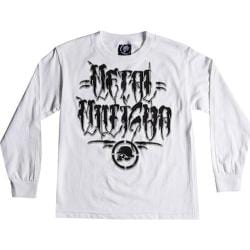 Boys' Metal Mulisha Decay Long Sleeve White