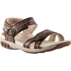 Women's Therafit Grace Sandal Brown Leather