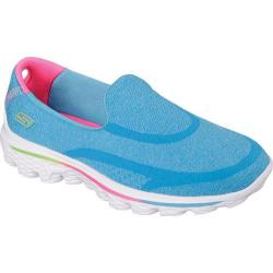 Girls' Skechers GOwalk 2 Super Sock Blue
