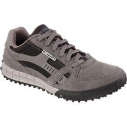 Men's Skechers Relaxed Fit Floater Charcoal/Black