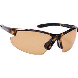 Coyote Eyewear Super-Flex Polarized Sport Sunglasses Tortoise/Photo Brown