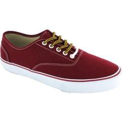 Men's Crevo Captain Sneaker Red Canvas