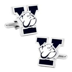 Men's Cufflinks Inc Yale University Bulldogs Cufflinks Navy