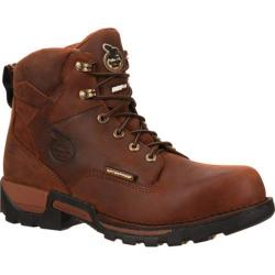 Men's Georgia Boot GBOT067 6in Eagle One Composite Toe Brown Full Grain Leather