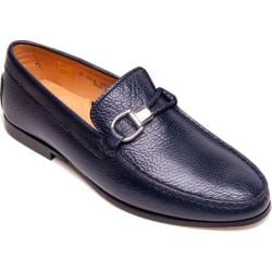 Men's Giovanni Marquez 254 Dollarino Loafer Navy Leather