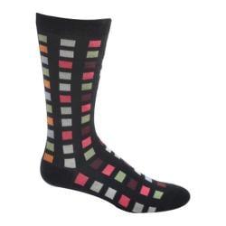 Men's Ozone Square Flair Sock Black