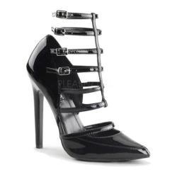 Women's Pleaser Sexy 29 Heel Black Patent
