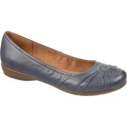 Women's Naturalizer Ginger Flat Spring Denim Leather/Nubia Classic