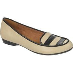 Women's Naturalizer Simone Pale Ivory/Black Sheep Leather