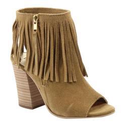 Women's Diba True In Tern Boots Cognac Suede