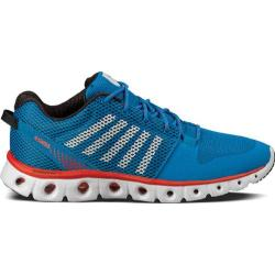 Men's K-Swiss X Lite Methyl Blue/White/Fiery Red