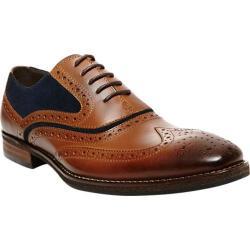 Men's Steve Madden Pauly Oxford Tan/Blue Leather