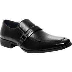 Men's Steve Madden Seemore Slip-On Black Leather