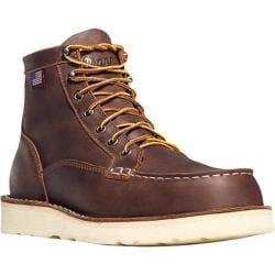 Men's Danner Bull Run Moc Toe 6in Cristy Brown Full Grain Leather 15367453