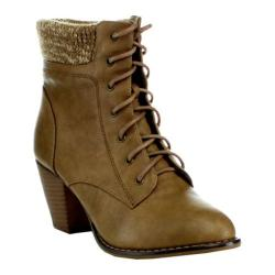 Women's L & C Mel-12 Sweater Boot Khaki