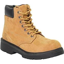 Women's Moxie Trades Alice Steel Toe Work Boot Wheat Nubuck Leather