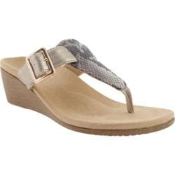 Women's Vionic with Orthaheel Technology Alanis Natural Snake