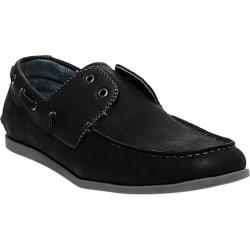 Men's Madden Gameup Slip-On Black Synthetic