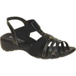 Women's Remonte Elea 04 Sandal Black Leather