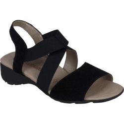 Women's Remonte Elea 53 Sandal Black Suede