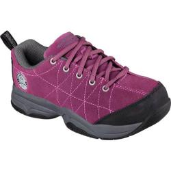 Women's Skechers Work Felton Turvey ST Plum